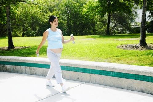 ejercicios para mujer embarazada: